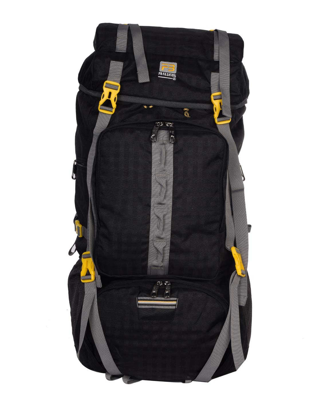 72099914df065c FB Fashion 41 Litre Mount Track Rucksack, Hiking & Trekking Backpack  (Black): Amazon.in: Bags, Wallets & Luggage