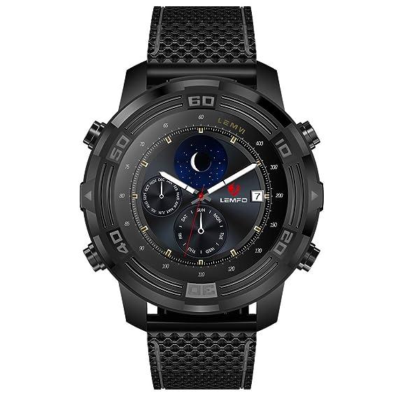 Amazon.com: LEMFO LEM6 Android 5.1 Smart Watch Phone ...