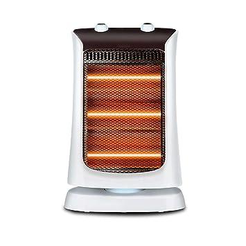 MSNDIAN Calentador pequeño sol hogar ahorro de energía calentador eléctrico sacudir la cabeza calentador de escritorio estufa asado calentador de energía ...