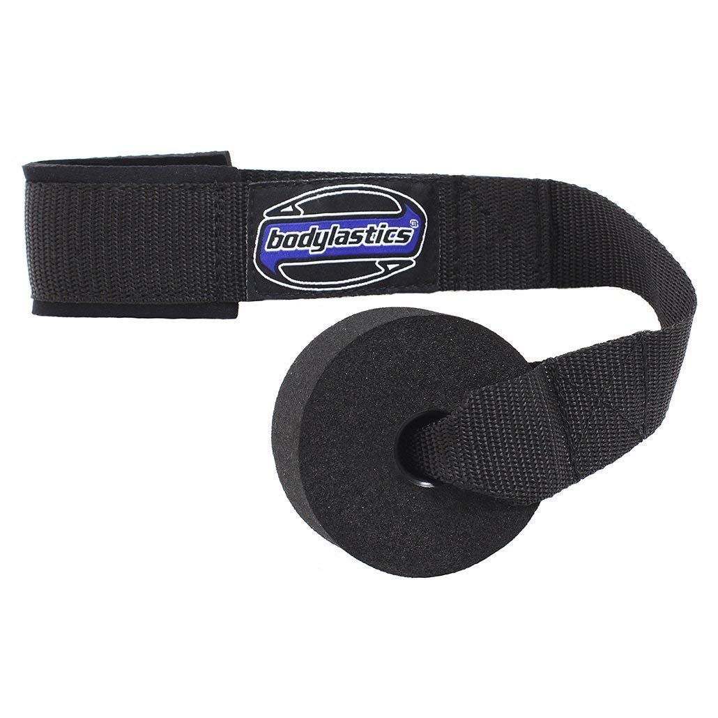 Heavy Duty Resistance Bands Door Anchor Attachment with Solid Nylon core, Dense Foam (Won't Hurt Your Door), Super Strong Nylon Webbing and Neoprene Padding by Bodylastics.