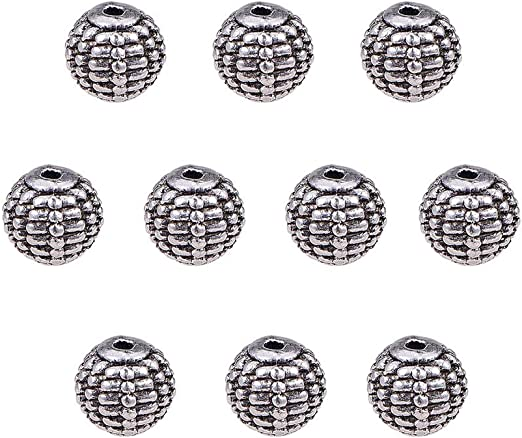 Flat Round Hematite 8mm Natural Spacer Loose Beads Jewelry Bracelets Making ZX