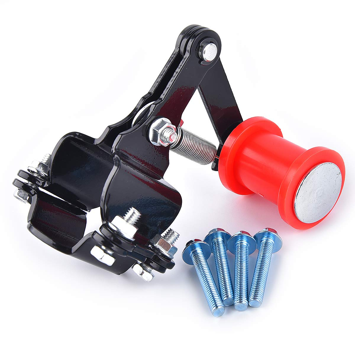 Motorcycle Link Length Modified Chain Tensioner Adjuster with Extra Lengthened Mounting Bolt