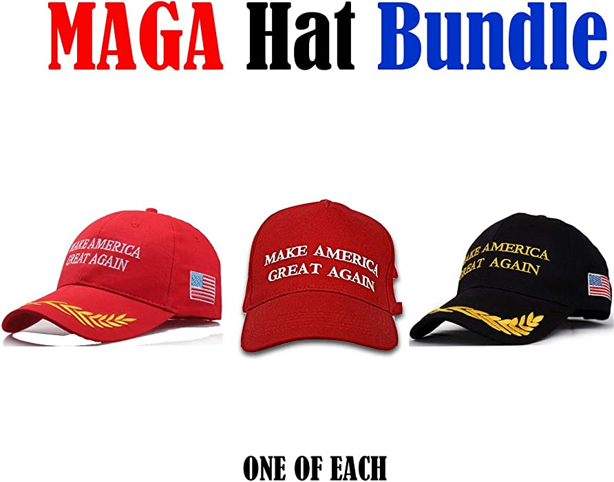 Amazon.com  Make America Great Again Hat The Ultimate Republican  3 Pack  d8265d57f28c