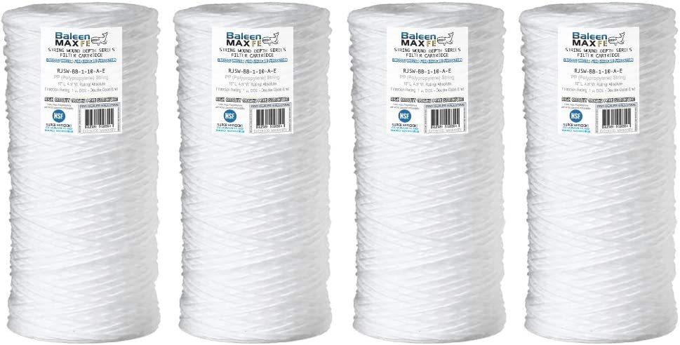 Hydronix SWC-45-1010 String Wound Filter 4.5 OD X 10 Length 10 Micron