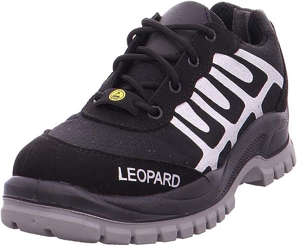 Leopard Herren S1 Arbeitsschuhe Sicherheitsschuhe schwarz