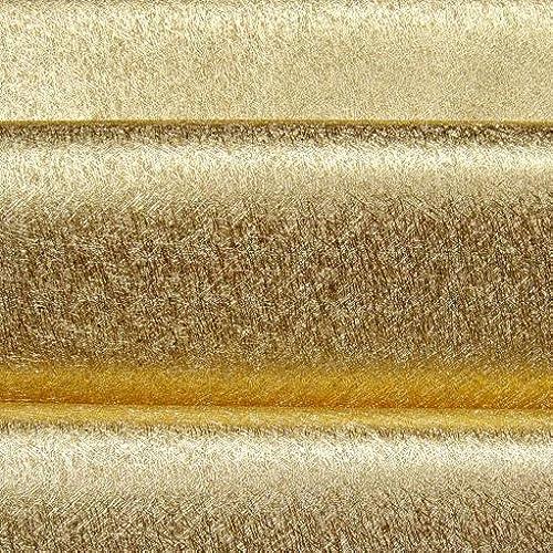 26110 Vinyl Gold Metallic Wallpaper For Shiny Glitter Living Room WallPaper Walls57square Feets Roll