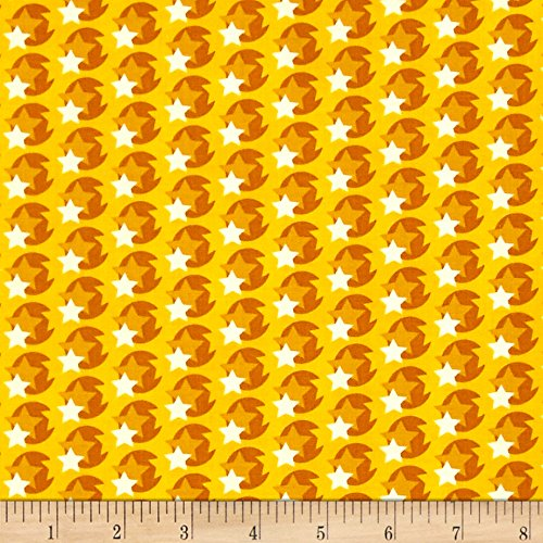 Heather Bailey Hello Love Pop Star Yellow Fabric by The Yard