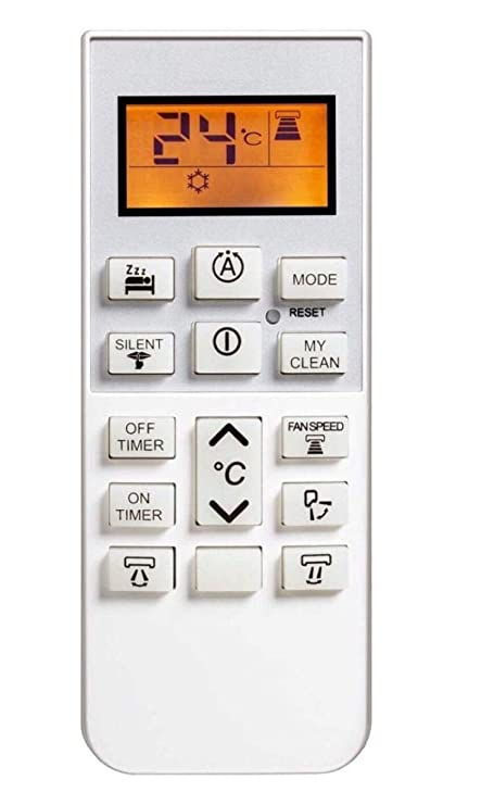 Upix AC Remote No  168B with zzz Function, Compatible for Hitachi AC Remote  Control - Old Remote Must be Exactly Same, Send Old Remote Picture at