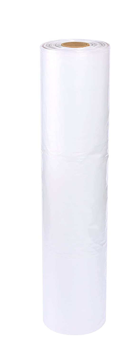 "Aviditi PC173 Pallet Covers, 52"" x 48"" x 60"", 3 Mil, Clear (Pack of 50)"