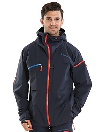 best service 000c1 3bbcc Peak Performance Heli Alpine Jacket Blue Shadow - XXL ...