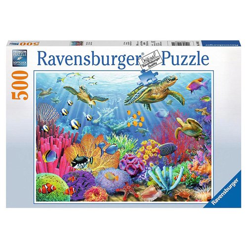 Ravensburger Tropical Waters Puzzle 500 Piece product image
