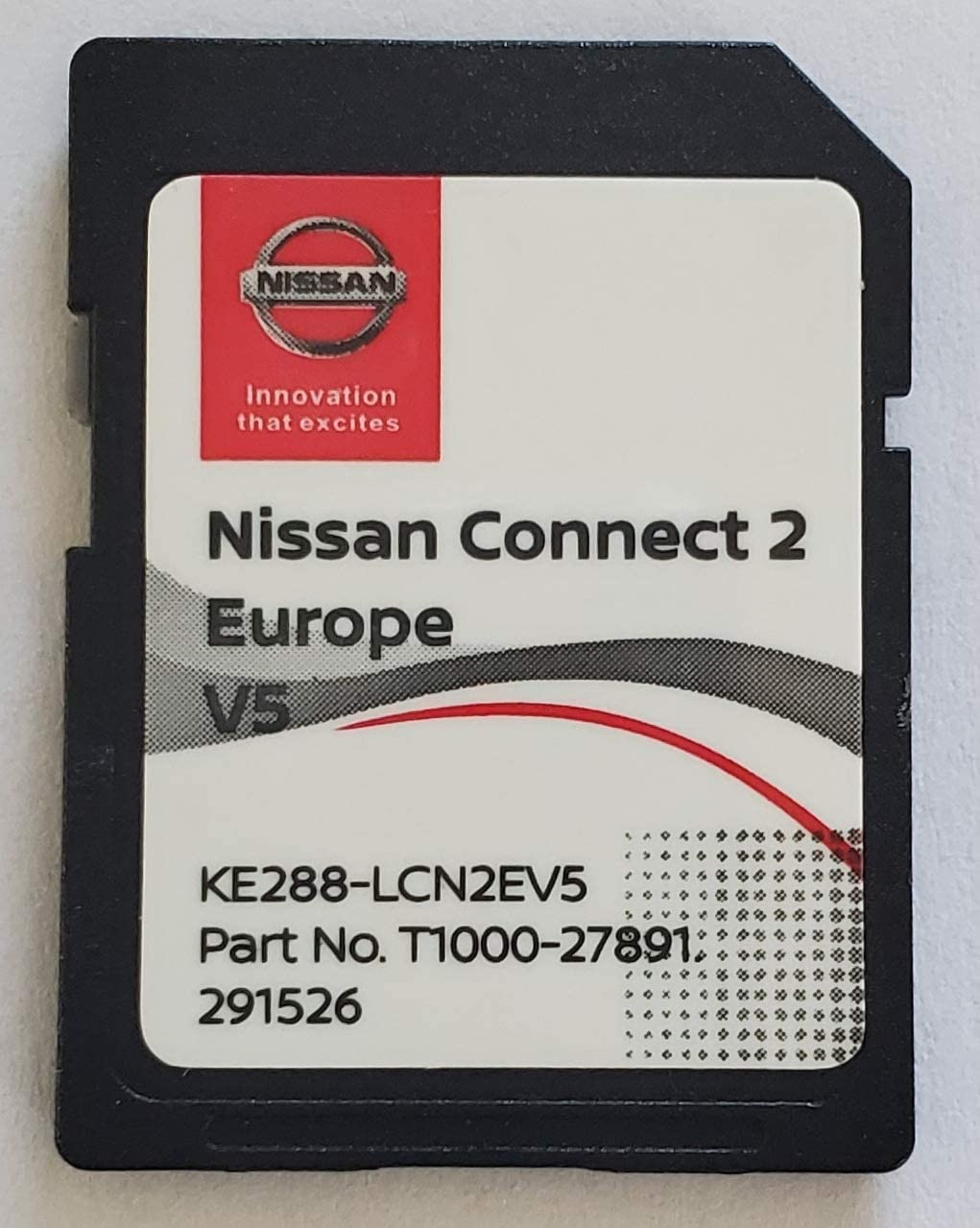 Carte SD GPS Europe 2020 v5 Nissan Connect 2 Database Q3.2018