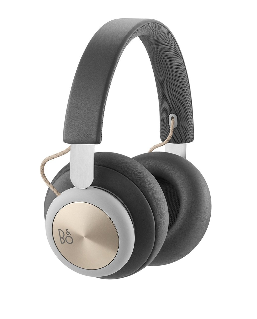 B&O PLAY by Bang & Olufsen Beoplay H4 Wireless Over-Ear Headphones, Bluetooth 4.2 (Charcoal Gray) by B&O PLAY by Bang & Olufsen