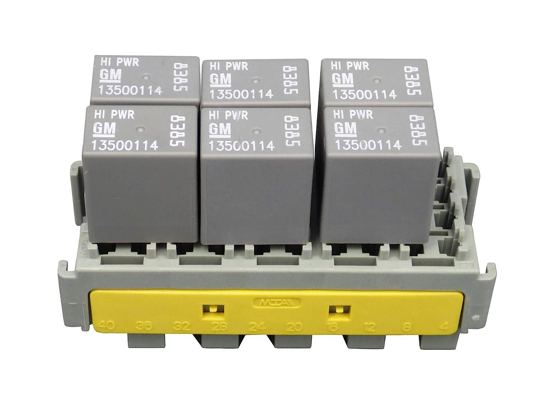MTA Module for 20xMini Fuse//Circuit brakers//Diodes or 6x Mini 280 Relays
