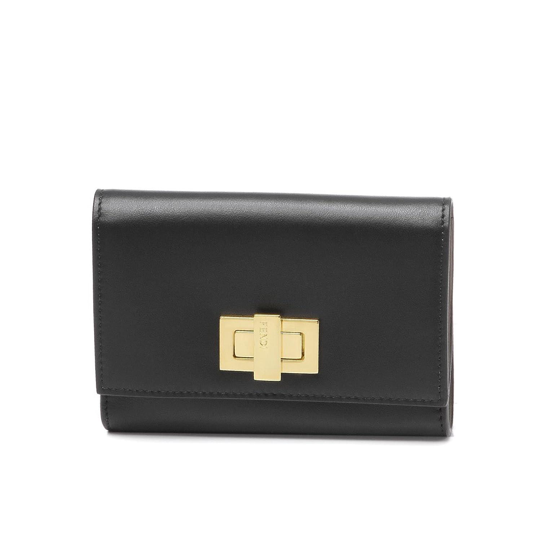 (フェンディ) FENDI 二つ折り財布 ミディアム PEEKABOO ブラック 8M0359 SFH F0E6E [並行輸入品] B075RYYZ7D