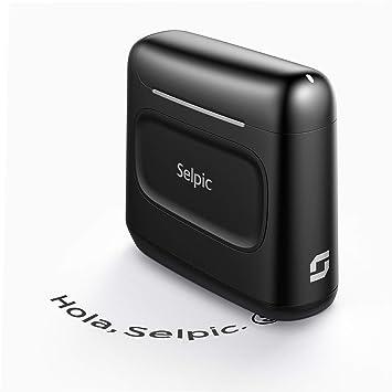 Selpic S1 Impresora Portátil de Inyección de Tinta con Tinta ...