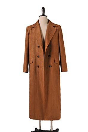 CosDaddy Doctor Dr. Who Tenth Doctor Brown Coat Suit Costume  sc 1 st  Amazon.com & Amazon.com: CosDaddy Doctor Dr. Who Tenth Doctor Brown Coat Suit ...
