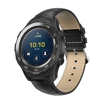 Malloom Huawei Watch 2 Correa, Reemplazo de PU Cuero Reloj Pulsera Correa Banda para Huawei Watch 2