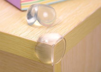 Protector de seguridad infantil para esquinas de mesa de cristal ...