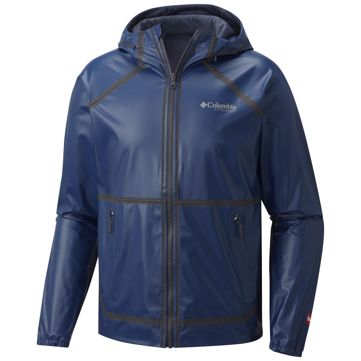 Columbia Men's Outdry Ex Reversible Jacket Large Carbon by Columbia