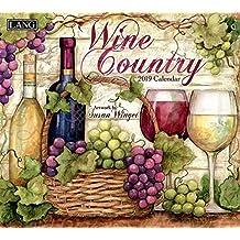 Wine Country 2019 14x12.5 Wall Calendar