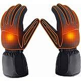 Azornic alimentato a batteria ricaricabile riscaldato guanti per uomini/donne, impermeabile, per riscaldamento elettrico guanti termici invernali all' aperto campeggio escursionismo caccia