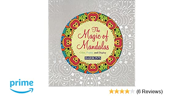 Amazon.com: The Magic of Mandalas: Color, Frame & Display (Color ...