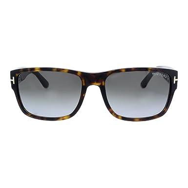 Amazon.com: Tom Ford ft0445 Mason Hombres anteojos de sol ...
