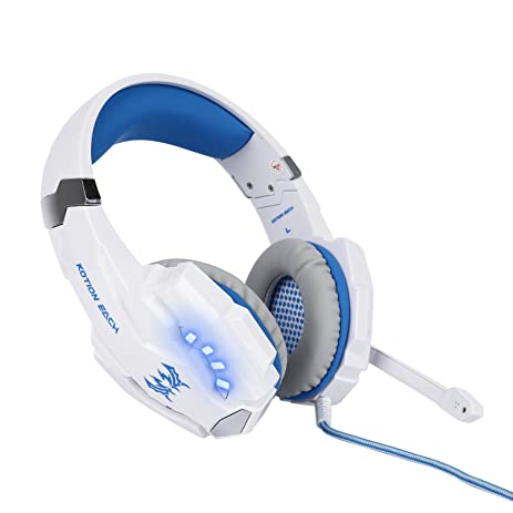 LESHP Gaming Headset, G9000 Surround Stereo Sound Gaming Over-ear Headphone with Microphone Noise