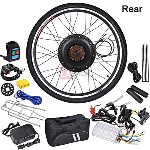 MegaBrand 48v 1000W 26in Rear Electric Bicycle Engine Kit Mo