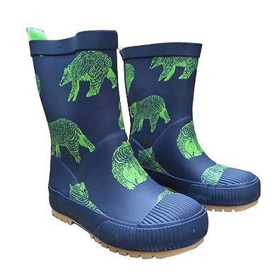 0cc2227f533b9 [AMIGGOO] 子供用 レインブーツ 可愛い 長靴 キッズ レインシューズ 雨靴 ジュニアスニーカー 子ども