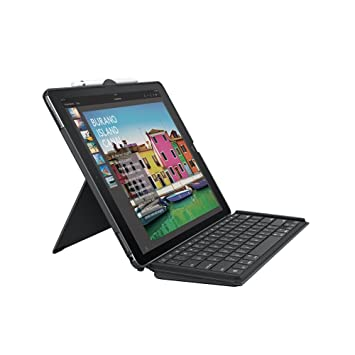 83372493937 Logitech 920-008440 Slim Combo for iPad Pro (1st and 2nd Generation) 12.9