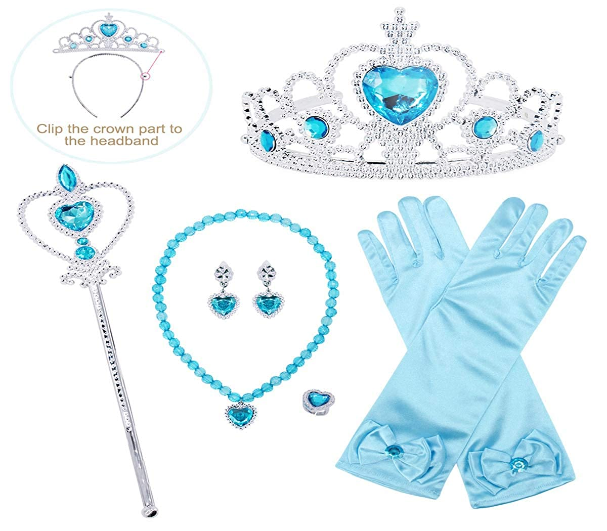 HenzWorld Cinderella Sofia Rapunzel Snow White Costume Dress Princess Birthday Party Cosplay