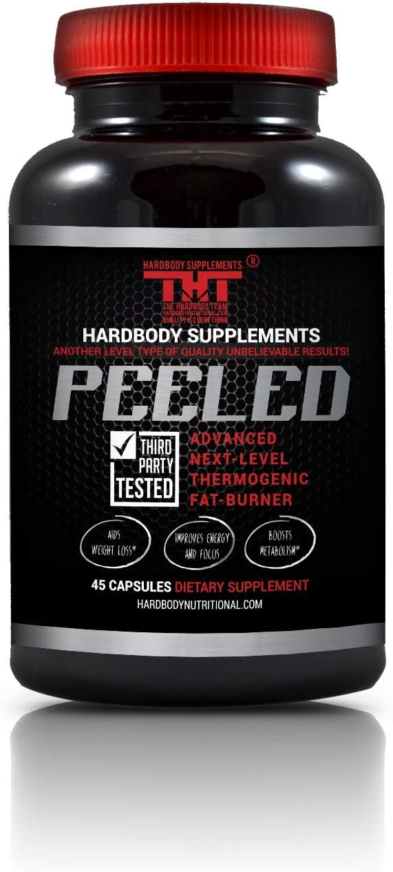 Peeled Thermogenic Fat Burner and Diet Pill for Men and Women. Boost Metabolism, Suppress Appetite, Enhance Energy, Supports Mental Clarity,Improves Mood.Garcinia Cambogia, L-Carnitine,B12 45