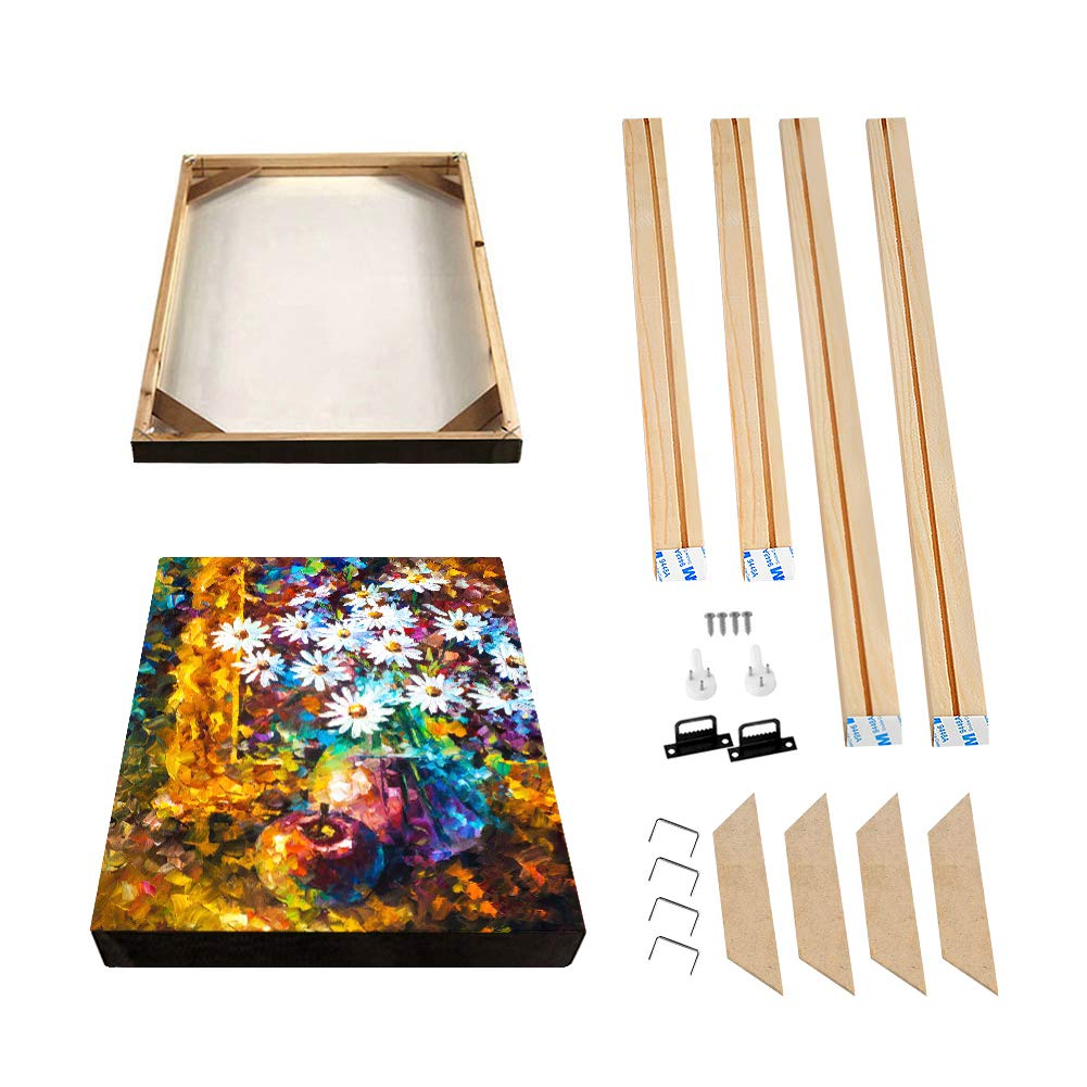 Modern Life Accessory,16x32//40x80cm Canvas Wood Stretcher Bars Painting Wooden Frames for Gallery Wrap Oil Painting Posters