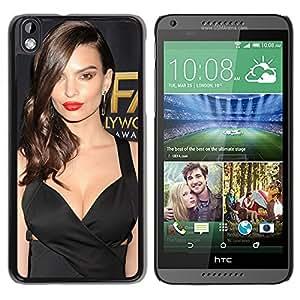 New Custom Designed Cover Case For HTC Desire 816 With Emily Ratajkowski Girl Mobile Wallpaper(83).jpg