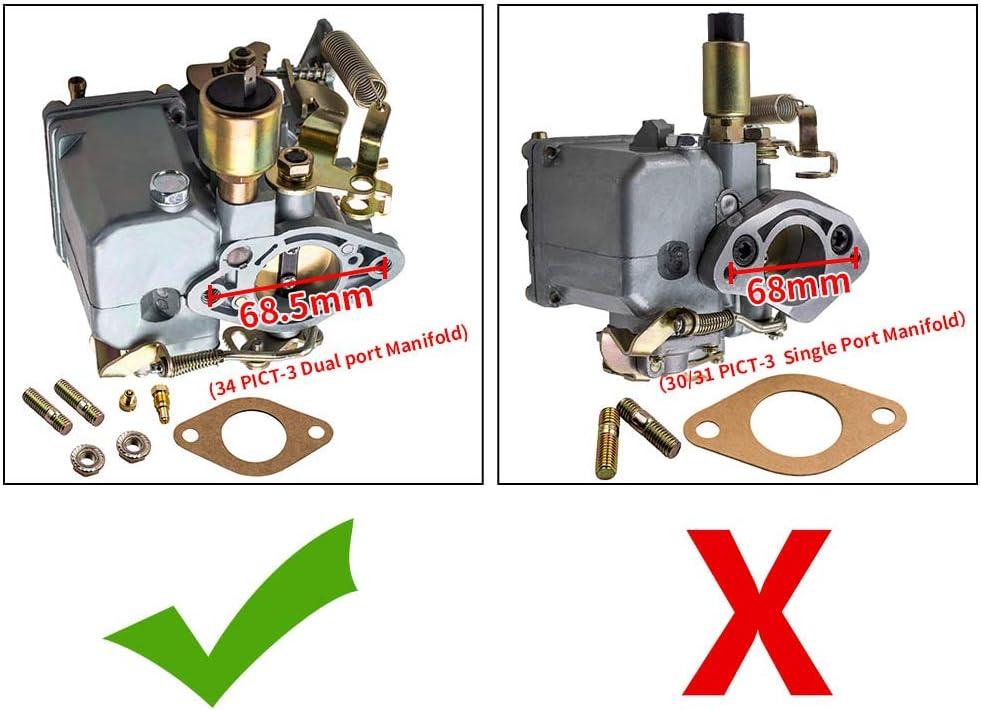 Carburetor For 1950-1978 VW Beetle 1969 1974 1970 1968 1966 1972 1975 H555NW