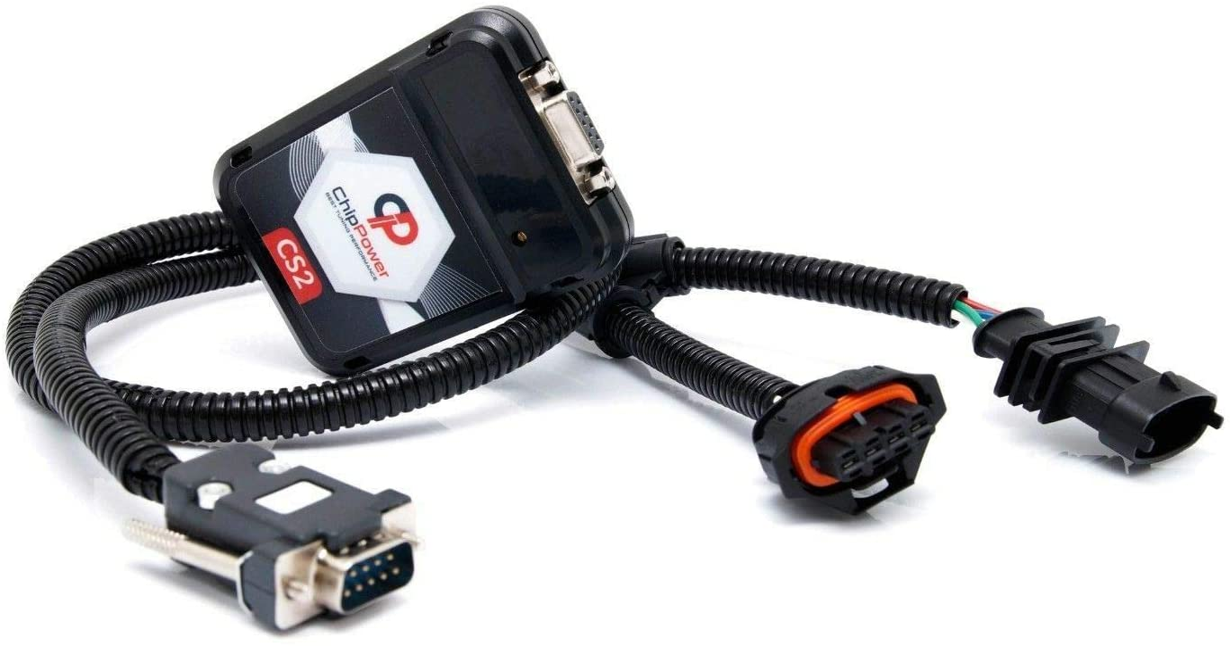 ChipPower Centralina Aggiuntiva CS2 per Sandero Mk2 II 0.9 1.0 //TCe//SCe//GPL Tuning Benzina