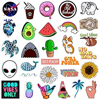 Amazon.com: Cute Laptop Stickers for Girl, Cartoon