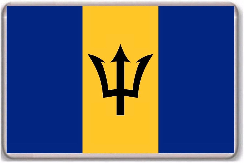 Flag of Barbados fridge magnet