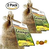 [2-Pack] UMF 10+ Manuka Honey, Lemon and Propolis Lozenges for Throat & Mouth Health and Immune Support