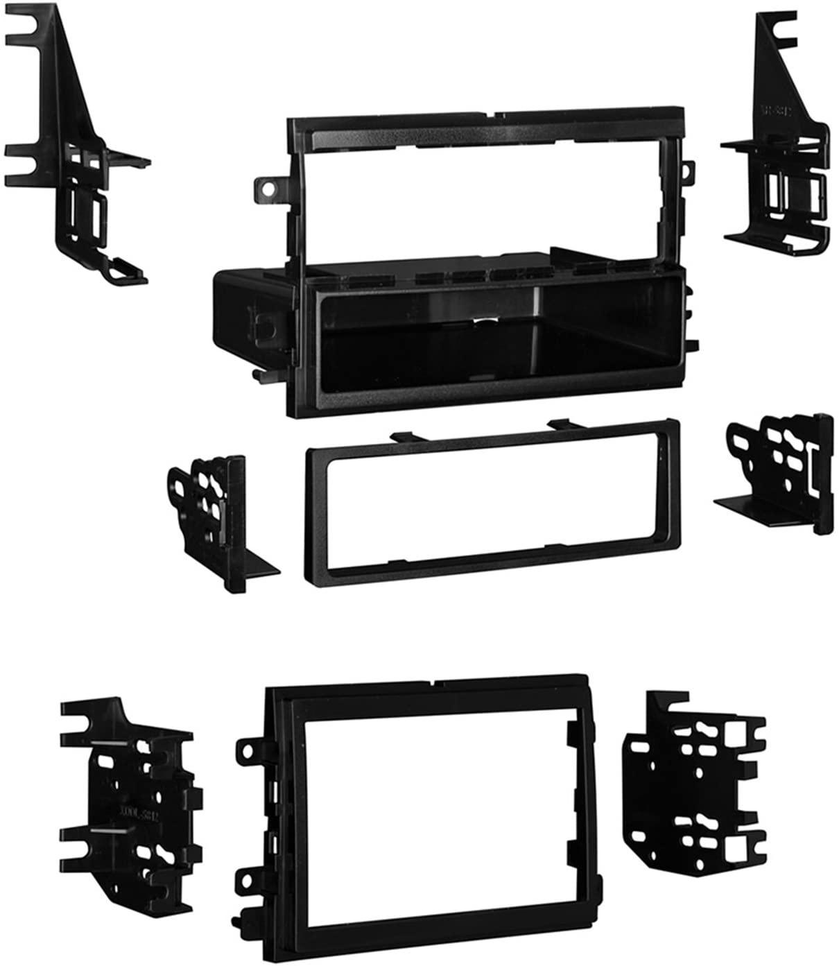 Metra 99-5815 Ford/Lincoln/Mercury Installation Dash Kit for Single DIN/Double DIN/ISO Radios