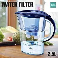 Water Filters 2.5L Jug Coconut Carbon Mineral Purifier Purify Bottle Free AU