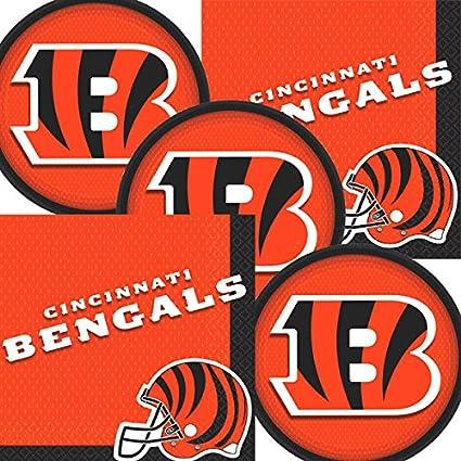 amazon com cincinnati bengals nfl football team logo plates and