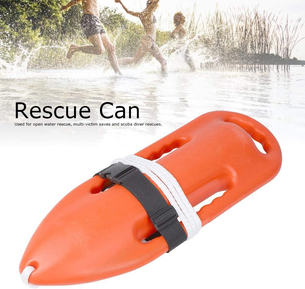 TOPINCN Lifeguard Float Prop Polyethylene Lifeguard Rescue Can ...