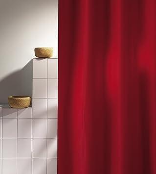 duschvorhang rot my blog. Black Bedroom Furniture Sets. Home Design Ideas