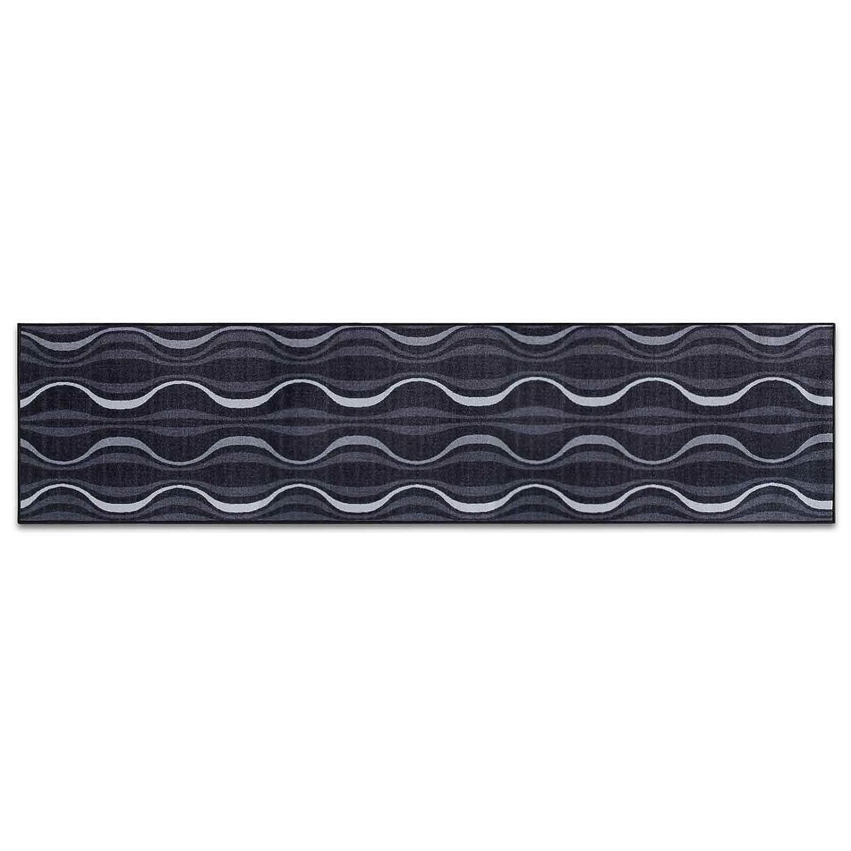 Casa pura Design Teppichläufer mit brillianten Farben   Hochwertige  Meterware, gekettelt  Hochwertige  Kurzflor Teppich Läufer   Küchenläufer, Flurläufer (80x450 cm) 4afebd