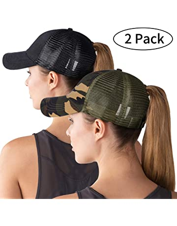 49b91d7723c High Ponytail Hole Baseball Hats Cap for Women