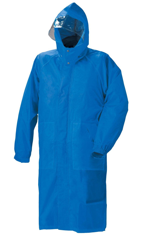 スミクラ フィールドレインパーカー 全4色 全4サイズ ブルー LL 防水 収納袋付き 反射テープ付き [正規代理店品] B019RVQDB2 LL|ブルー ブルー LL