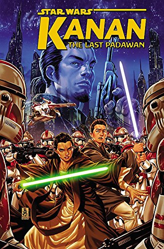 Book cover from Star Wars: Kanan: The Last Padawan Vol. 1 by Greg Weisman